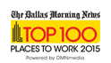 Top 100 Places to Work - 2015
