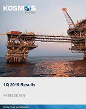 Kosmos 1Q 2019 Results