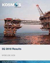 Kosmos 3Q 2019 Results